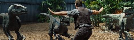 Jurassic World Chris Pratt Dinosaurs Raptors