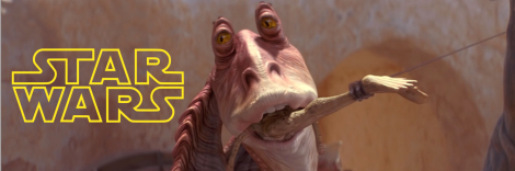 Star Wars Phantom Menace Jar Jar Binks