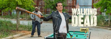 The Walking Dead Season 7 Mid Season Finale Break Negan Lucille Spencer