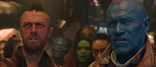 'Guardians Of The Galaxy Vol. 2' Five End Credit Scenes Explained Kraglin Yondu